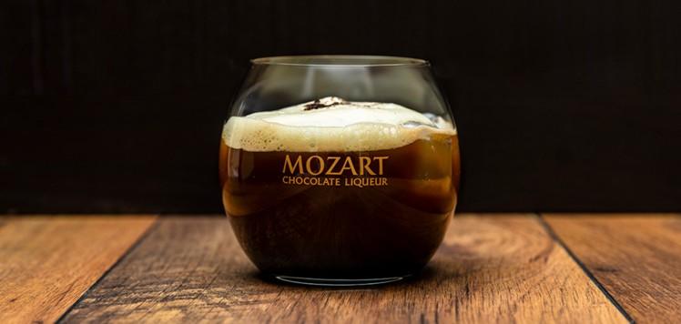 Ein Mozart Schokoladenlikör.