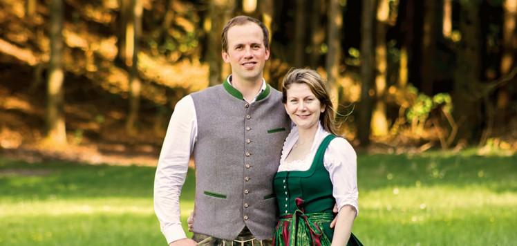Peter Zöls und seine Frau, die Geschäftsführer von Zöls.