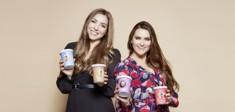 Die beiden Gründerinnen der veganen Eismarke Veganista.