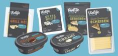 Verschiedenste köstliche Violife Produkte als Käseersatz.