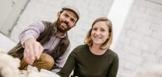 Julia und Markus Scharner, die Gründer von Mosberger.