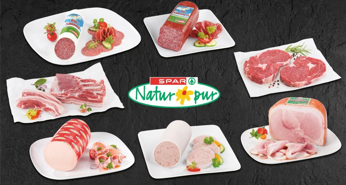 Die SPAR Natur*pur Produkte bei Maximarkt.