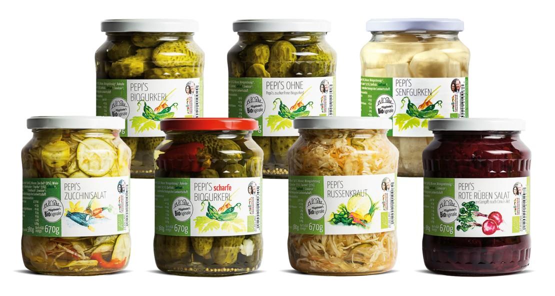 Eingelegtes Gemüse von Pepi's.