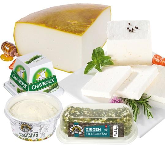 Köstliche Schaf- und Ziegenkäse-Produkte bei Maximarkt.