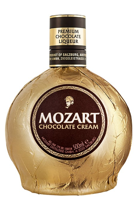 Der Mozart Chocolate Cream Likör.