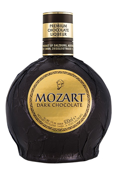 Der Mozart Dark Chocolate Likör.