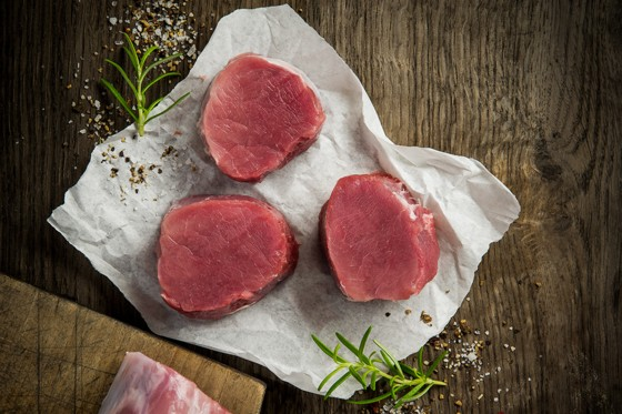 Fleisch von OBERIO.