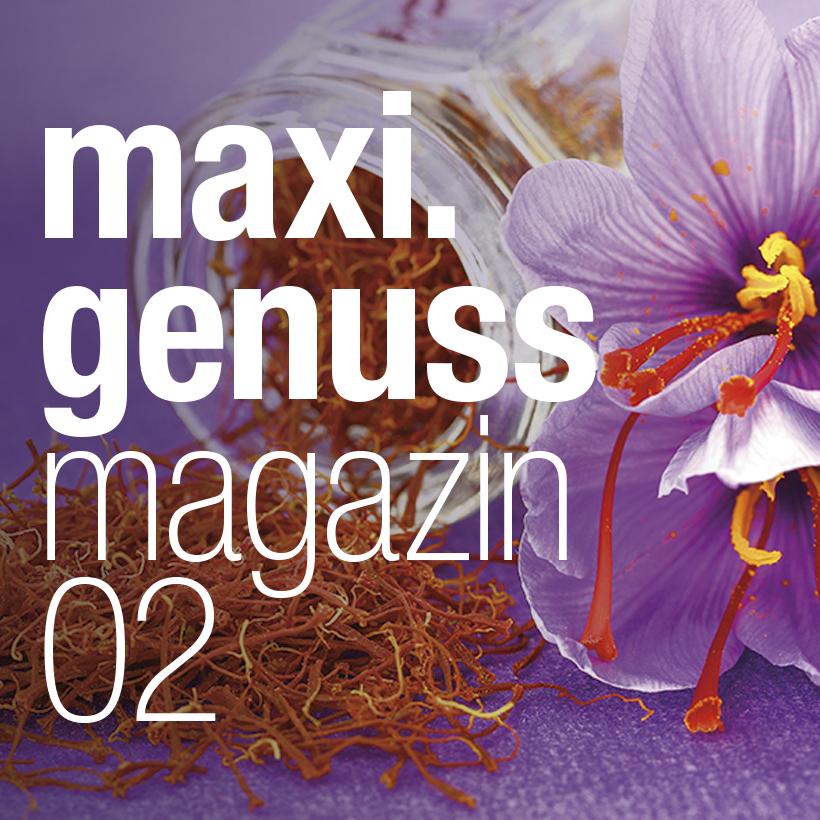 Die Titelseite des neuen Genussmagazins.